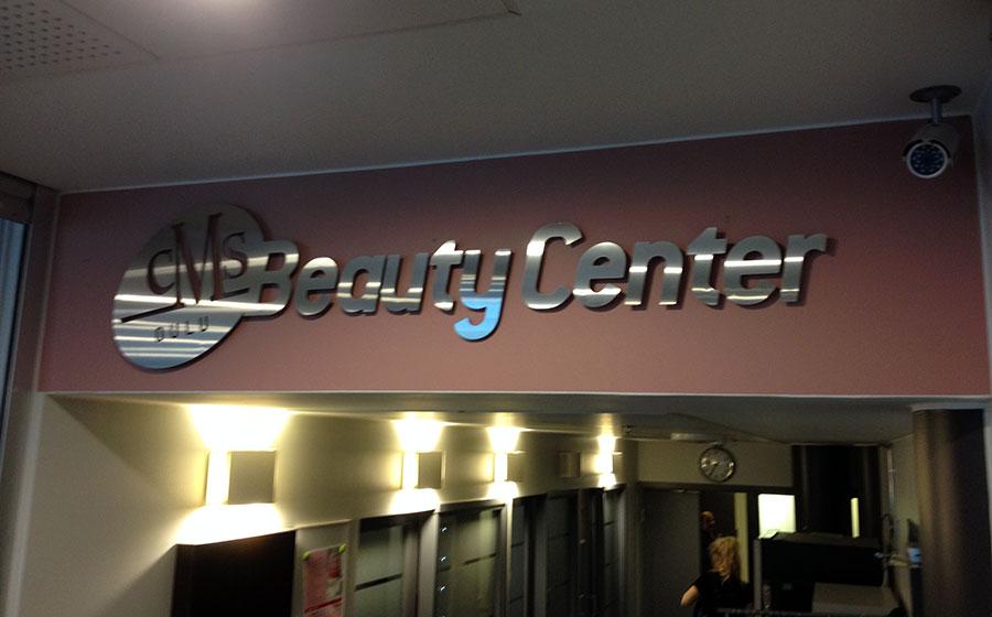 BeautyCenter rosteri-irtokirjaimet