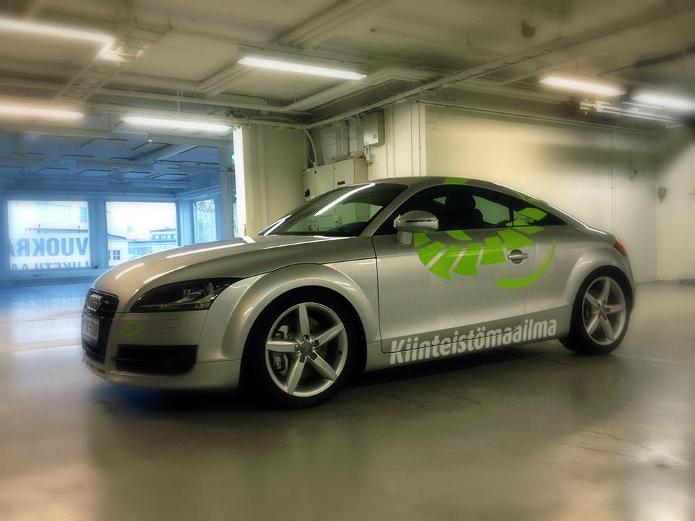 Autoteippaus Kiinteistömaailma Oulu Limingantulli