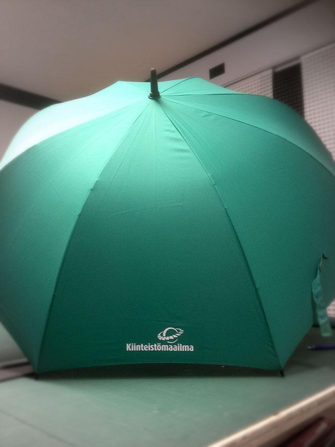 Kiinteistömaailma -sateenvarjo