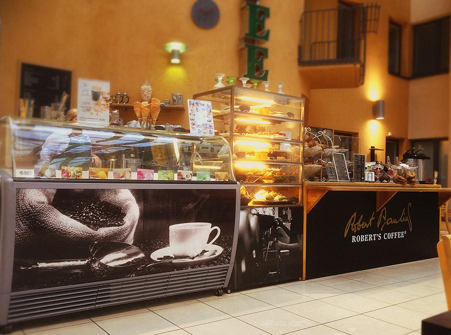 Robert's Coffee Oulu palvelutiskin tarratulosteet